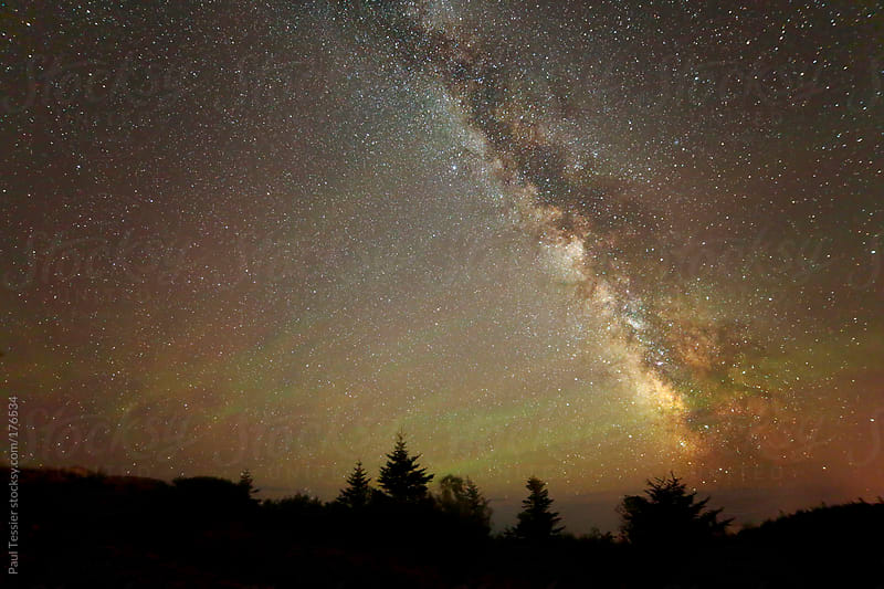 Night Sky with Airglow by Paul Tessier for Stocksy United