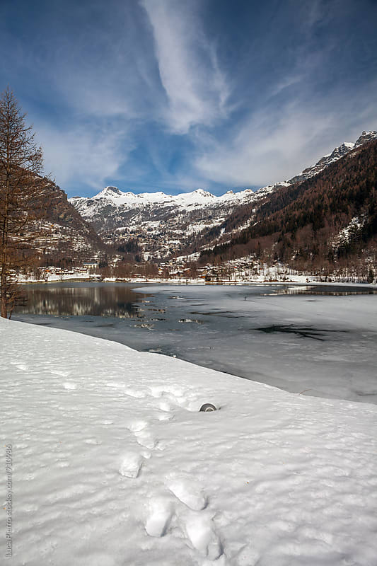 Maen lake, Valle d'Aosta by Luca Pierro for Stocksy United