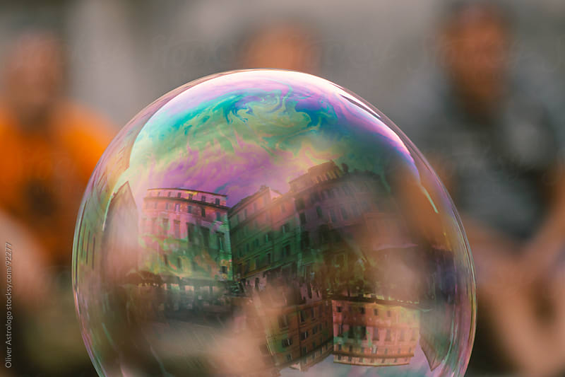 World in a bubble by Oliver Astrologo for Stocksy United