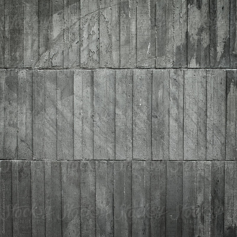 Concrete Wall by Goldmund Lukic for Stocksy United