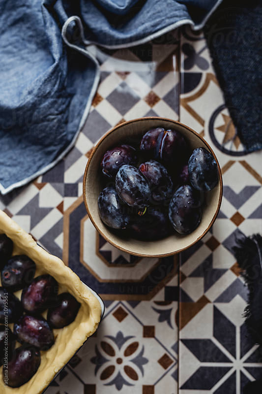 Fresh plums by Tatjana Zlatkovic for Stocksy United