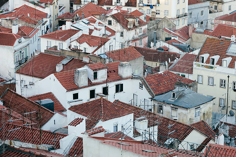 Lisbon Rooftops by Agencia for Stocksy United