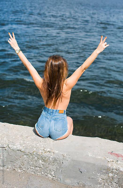 summer freedom. by Alexey Kuzma for Stocksy United