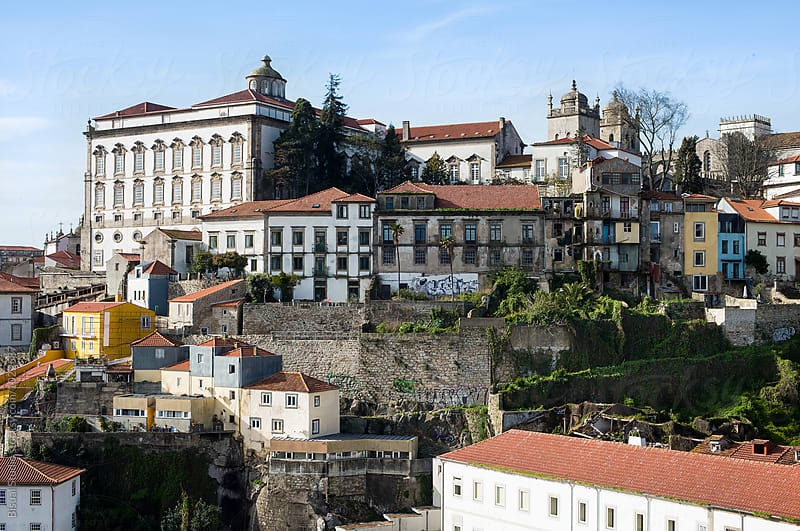 Views of Oporto old town, Portugal by Bisual Studio for Stocksy United