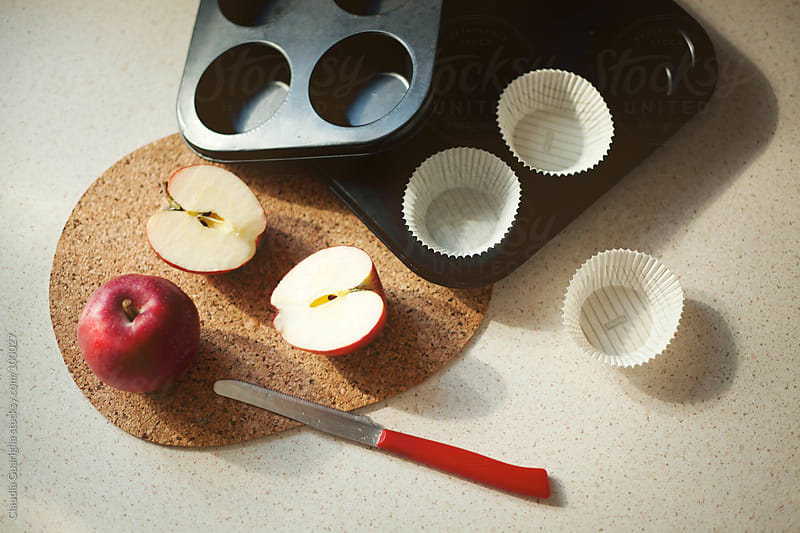 Making of muffins by Claudia Guariglia for Stocksy United