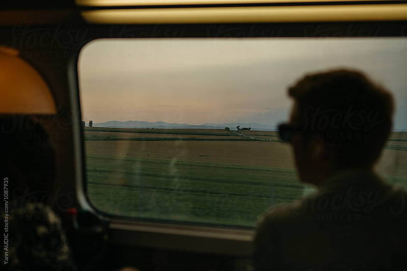 Train in France by Yann AUDIC for Stocksy United