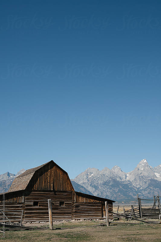 Wyoming Barn by Casey McCallister for Stocksy United