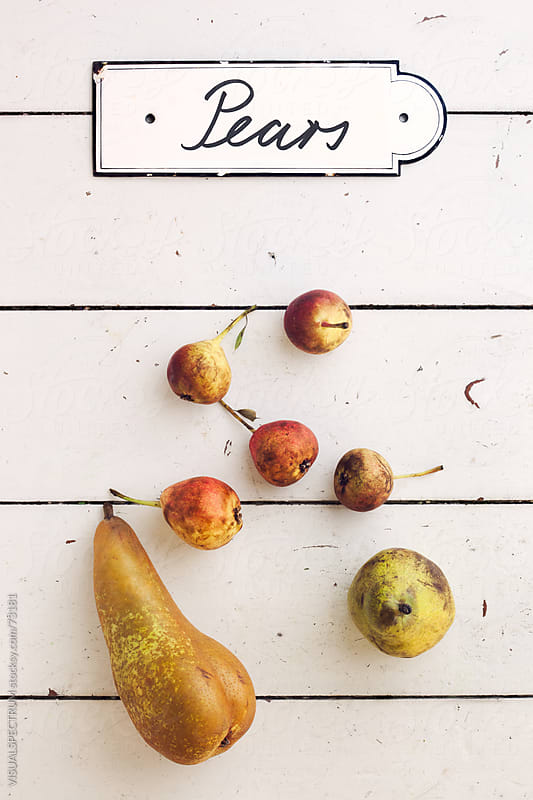 Pears by VISUALSPECTRUM for Stocksy United