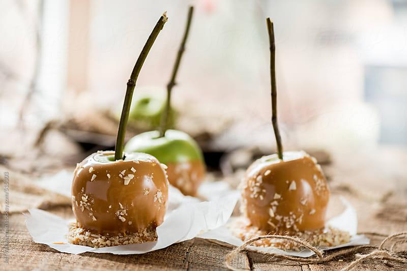 Caramel Apples by Jeff Wasserman for Stocksy United