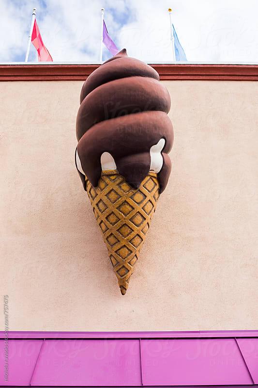 Big ice cream by michela ravasio for Stocksy United