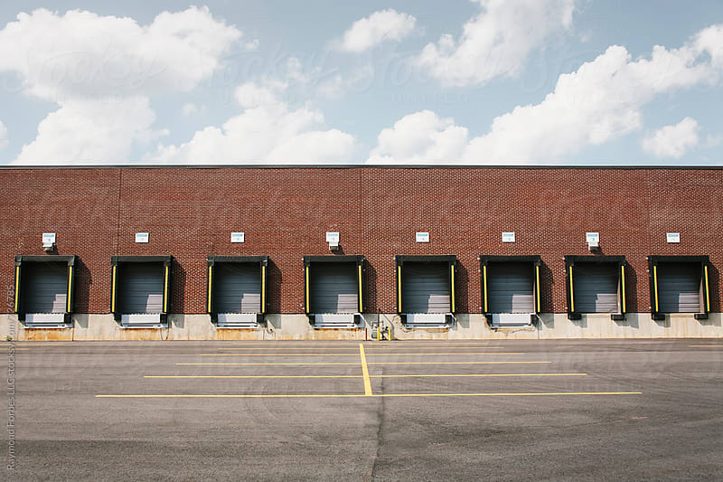 Loading Docks in Summer by Raymond Forbes LLC for Stocksy United