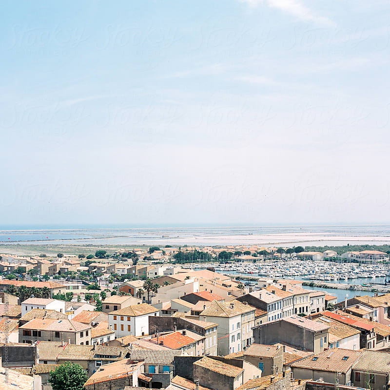 Rooftop View of a French Village by Andrew Spencer for Stocksy United