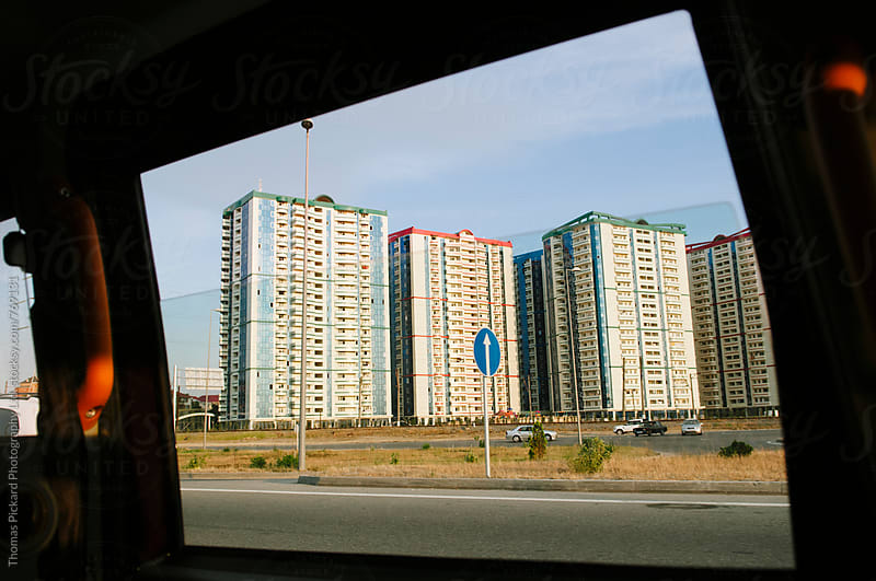 Apartment housing, Baku, Azerbaijan. by Thomas Pickard for Stocksy United