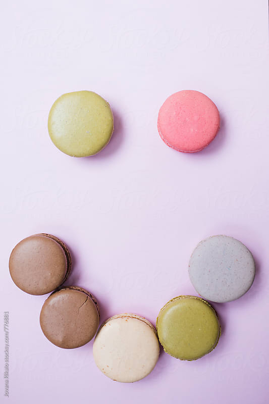 Macaroon smiley by Jovana Rikalo for Stocksy United