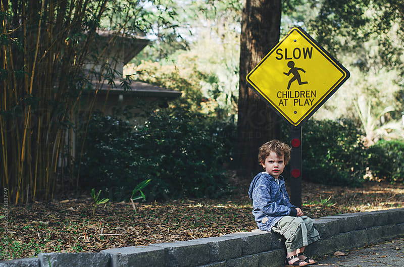 Grumpy Child by Ali Deck for Stocksy United
