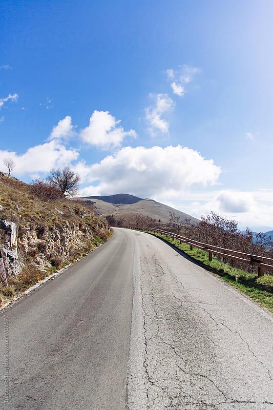 Road to Italian countryside by Tommaso Tuzj for Stocksy United