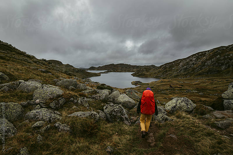 Hiking trip in the mountains by Chris Zielecki for Stocksy United