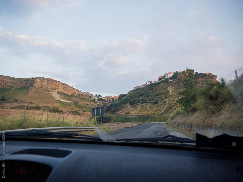 Country Road in the south of Italy by Davide Illini for Stocksy United