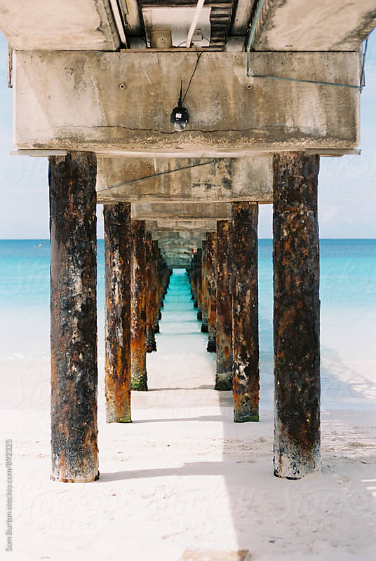 Pier in Barbados by Sam Burton for Stocksy United