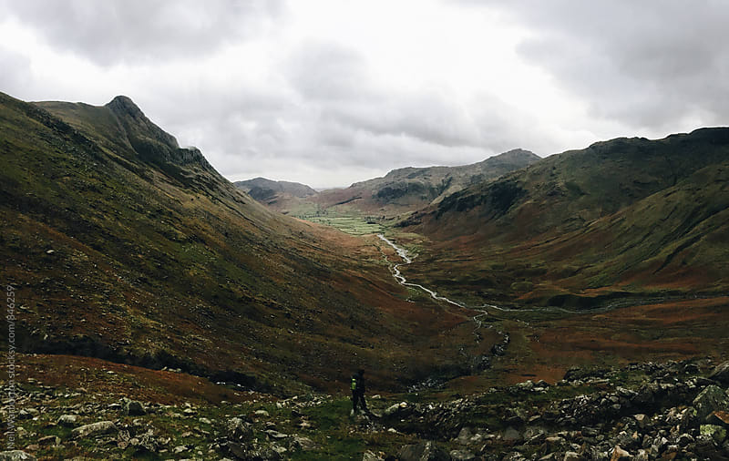 Langdale Valley in the English Lake District by Neil Warburton for Stocksy United