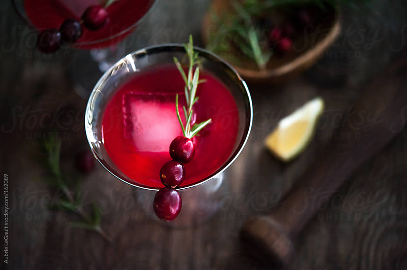 Cranberry Cocktail by Aubrie LeGault for Stocksy United