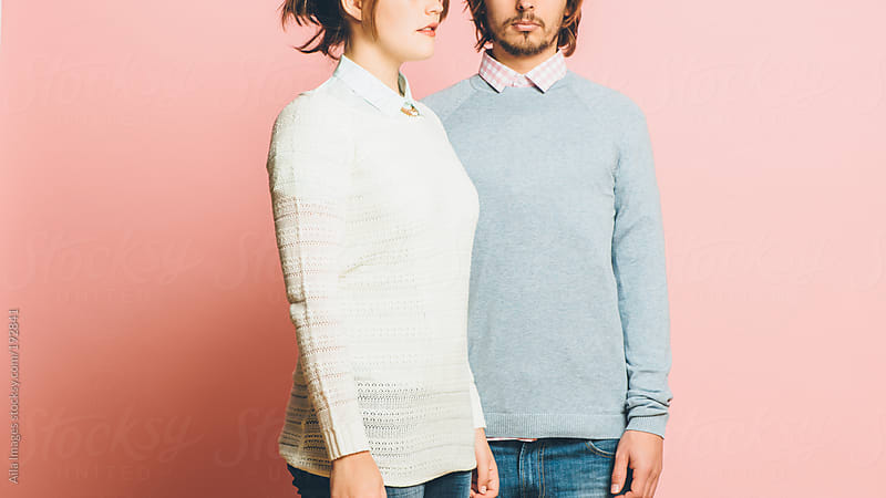 Hipster Couple in Spring Fashion Colors by Aila Images for Stocksy United