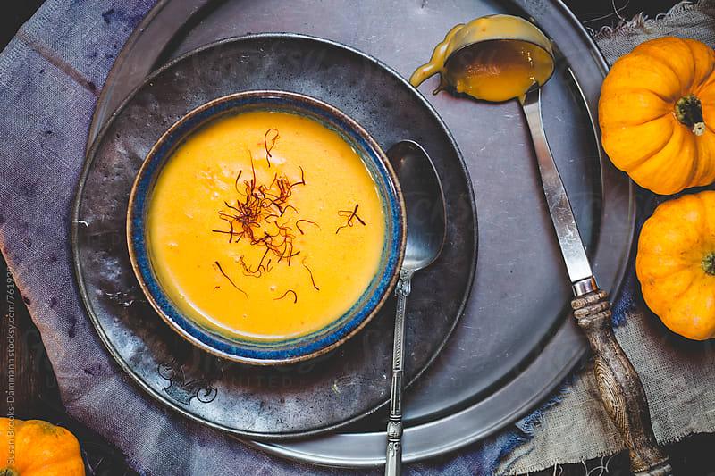 Pumpkin soup by Susan Brooks-Dammann for Stocksy United