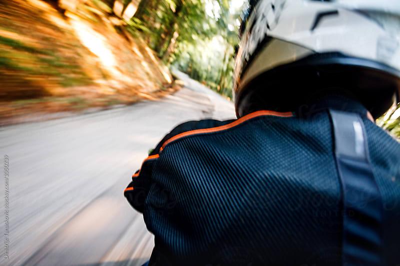 On the bike by Dimitrije Tanaskovic for Stocksy United