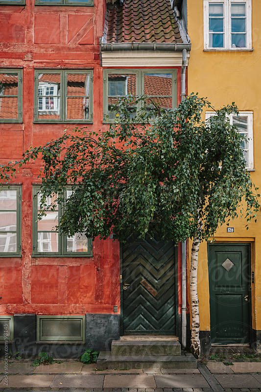 Colorful traditional buildings by Zocky for Stocksy United