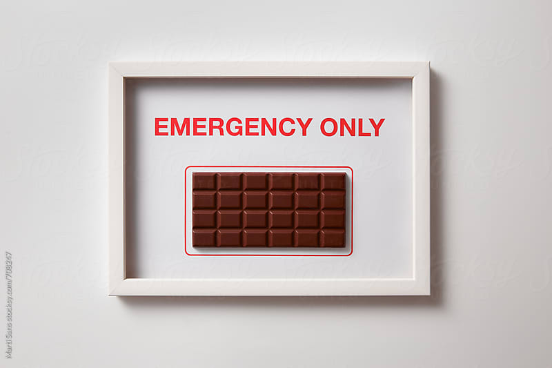 Only for emergencies by Martí Sans for Stocksy United
