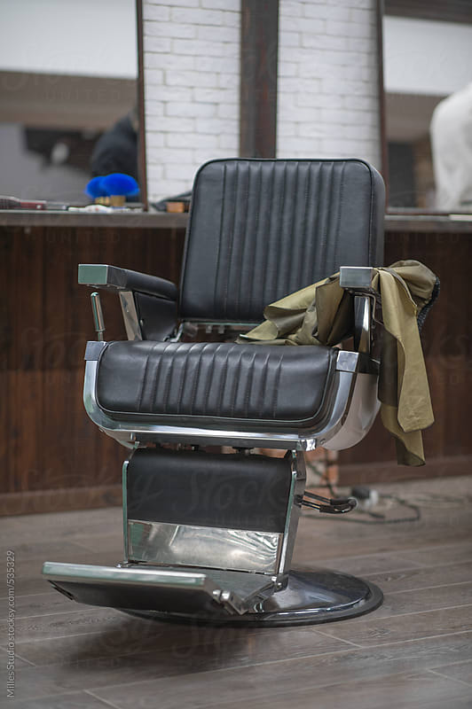 Barber chair by Milles Studio for Stocksy United