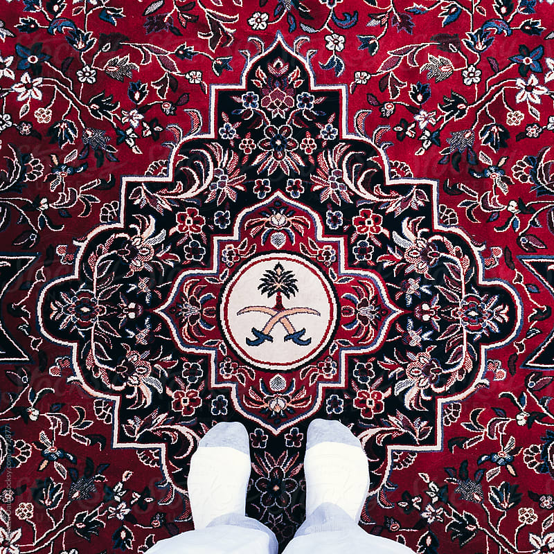 A Saudi Arabian Rug by Murtaza Daud for Stocksy United