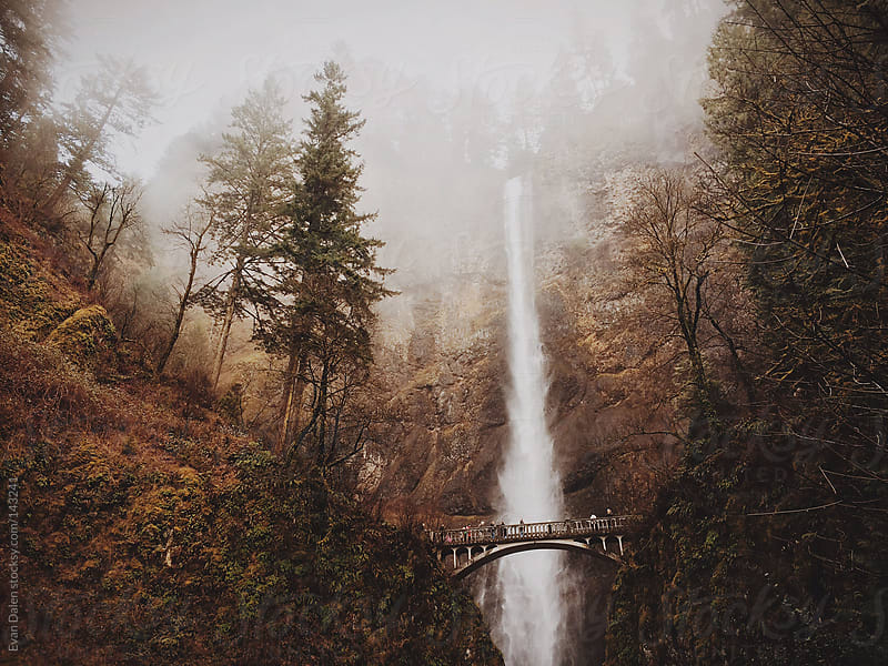 Multnomah Falls by Evan Dalen for Stocksy United