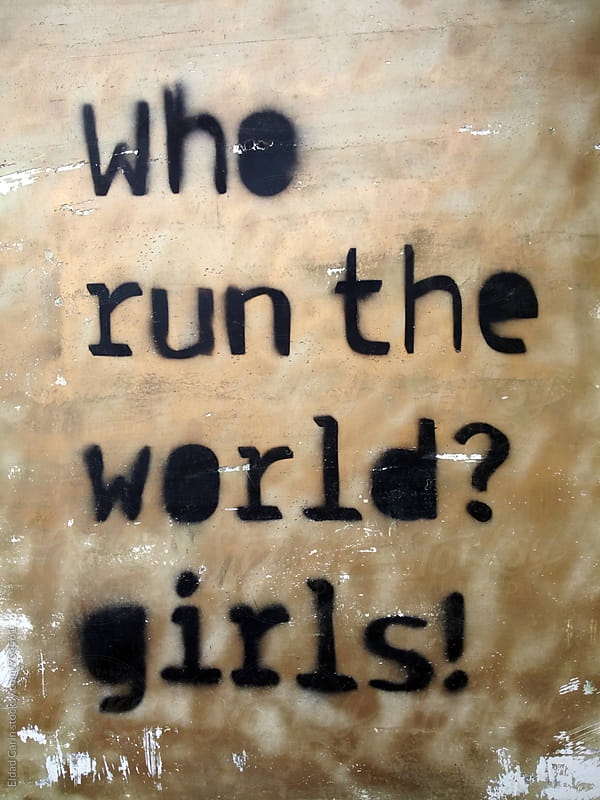 Who Run the World? Girls! by Eldad Carin for Stocksy United