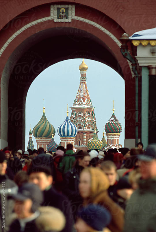 St. Basil's Cathedral, Red Square, UNESCO World Heritage Site, Moscow, Russia, Europe by Gavin Hellier for Stocksy United
