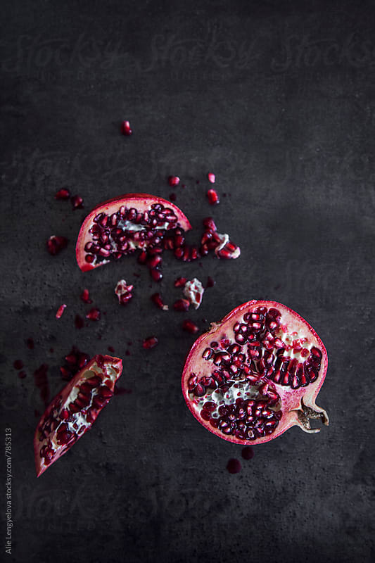 Pomegranate by Alie Lengyelova for Stocksy United