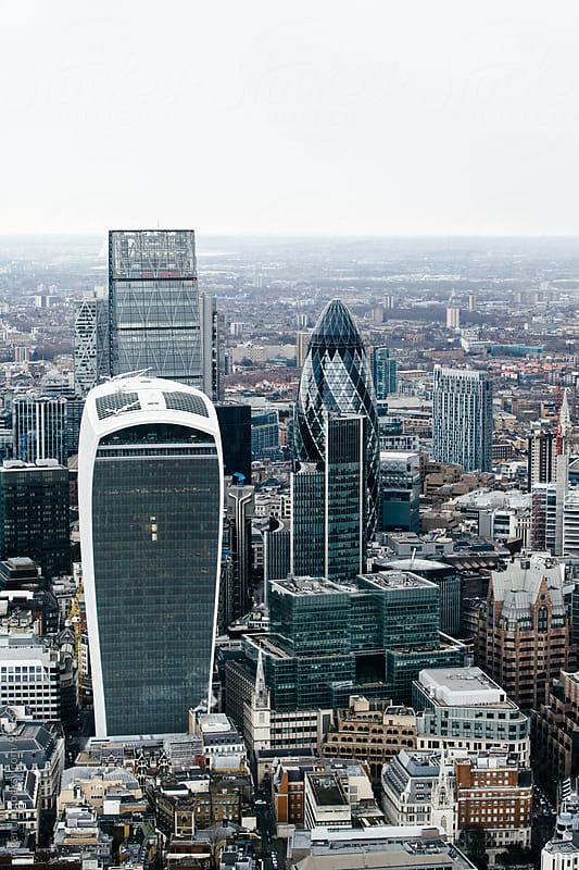 London Skyline by Agencia for Stocksy United
