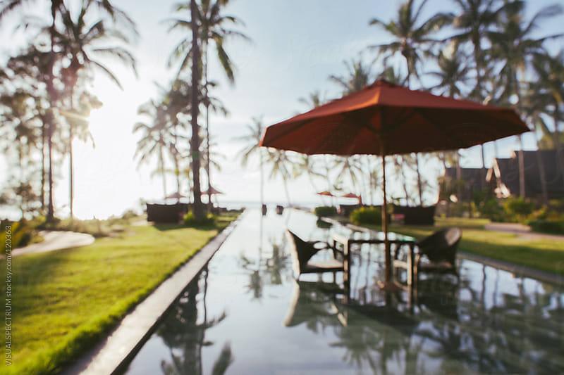 Tropical Resort Defocused by VISUALSPECTRUM for Stocksy United