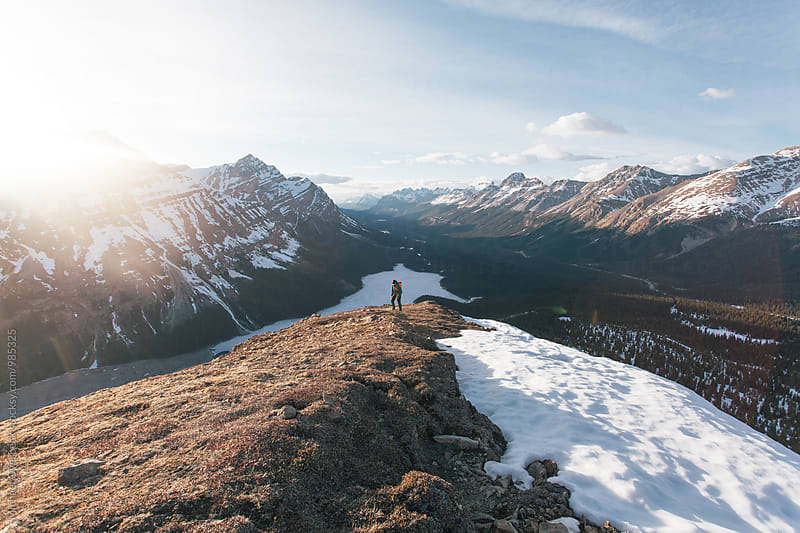 Hike with a View by Michael Overbeck for Stocksy United