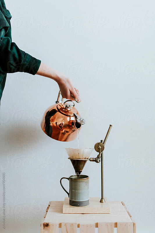 Making Coffee by Kristian Lynae Irey for Stocksy United