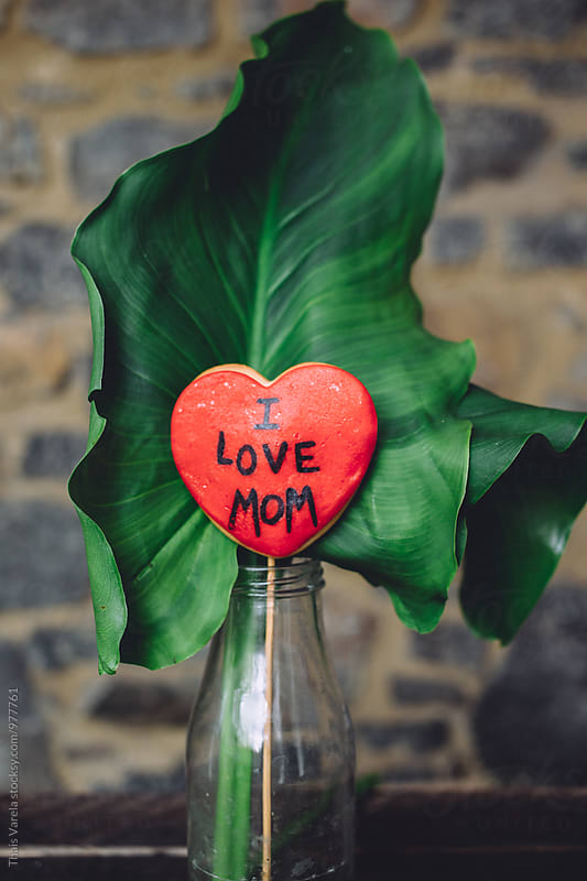I love mom by Thais Ramos Varela for Stocksy United