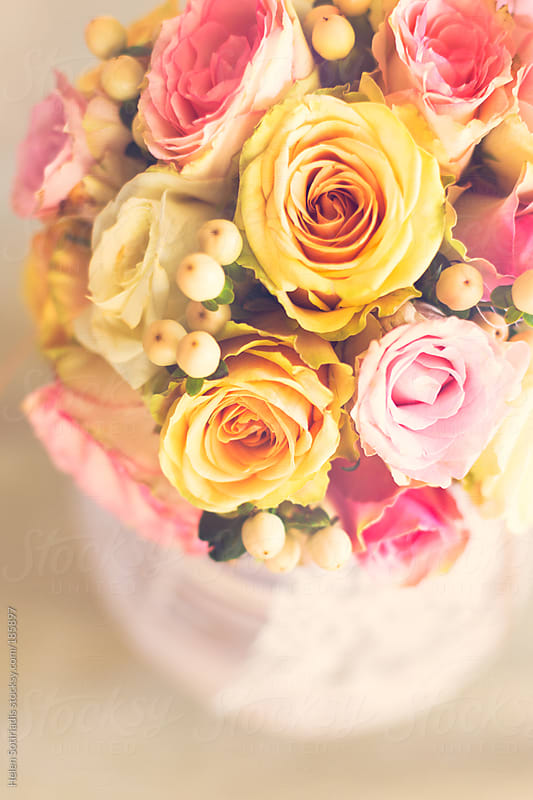 A bouquet of flowers by Helen Sotiriadis for Stocksy United