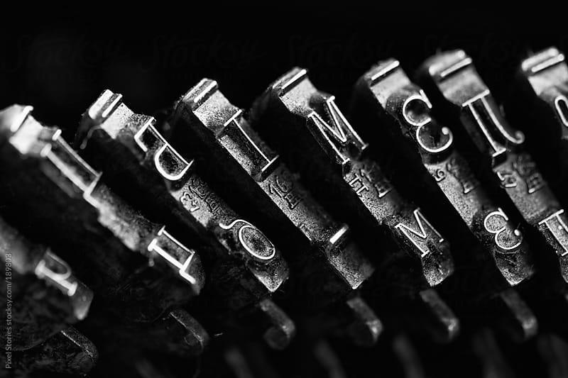 Typewriter macro by Pixel Stories for Stocksy United