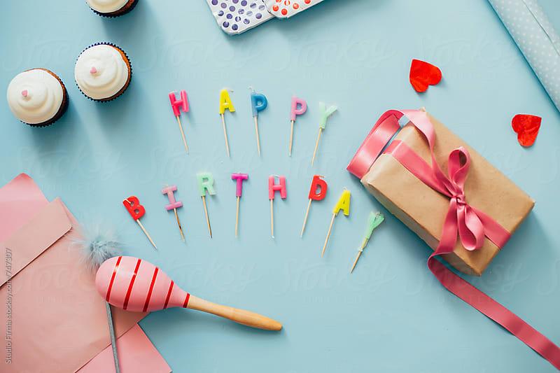 Happy Birthday! by Studio Firma for Stocksy United