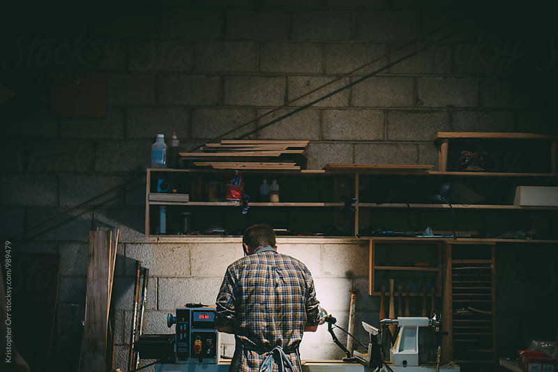 Woodshop Shoot by Kristopher Orr for Stocksy United