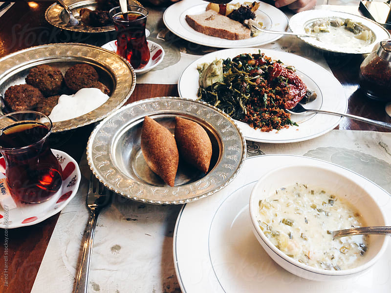 Lunch in Istanbul, Turkey by Jared Harrell for Stocksy United