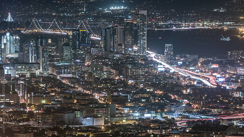landscape of San Francisco by yuanyuan xie for Stocksy United