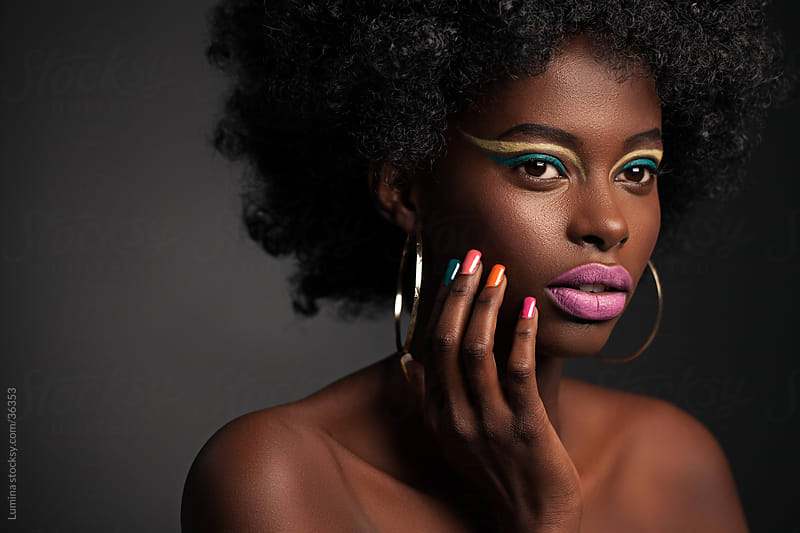 Afro Beauty by Lumina for Stocksy United