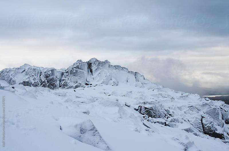 Summit Rocks II by Neil Warburton for Stocksy United
