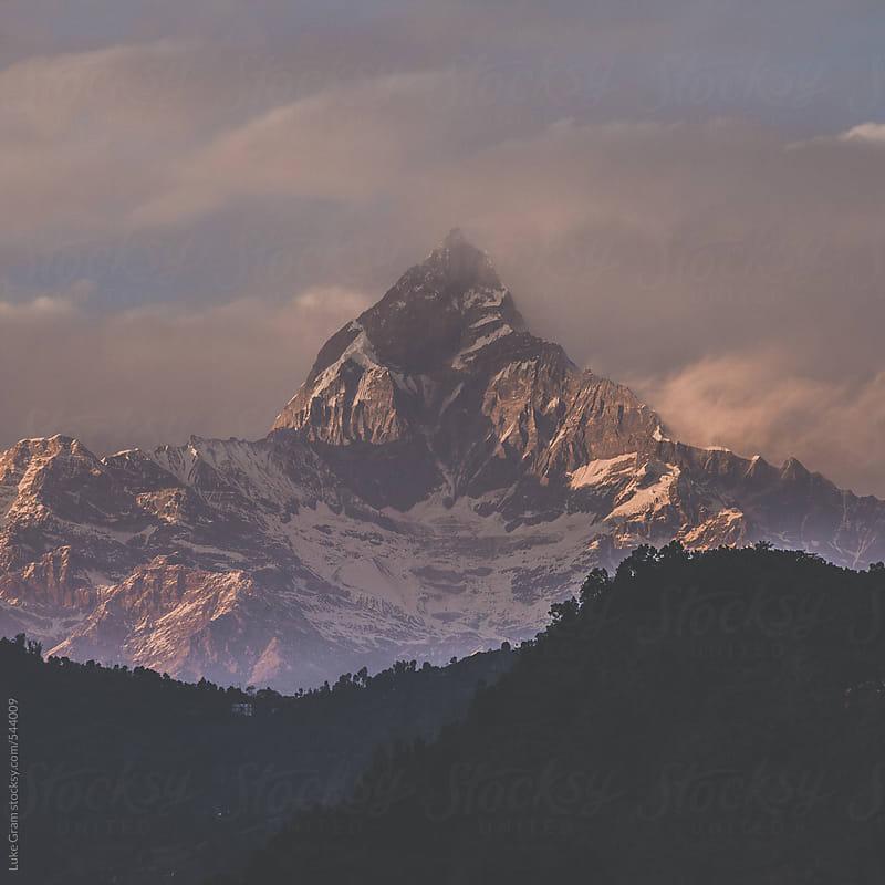 Travelling through Nepal, including Kathmandu, Pokhara and Annapurna Circuit by Luke Gram for Stocksy United